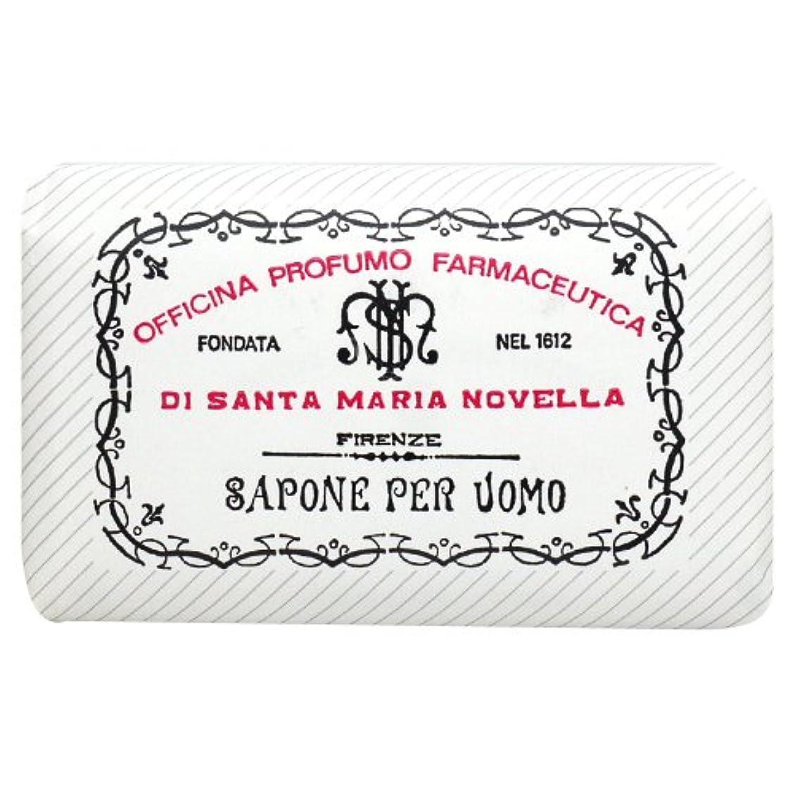 火星ガイド記念碑サンタ マリア ノヴェッラ Santa Maria Novella メンズソープ ベティベール 130g