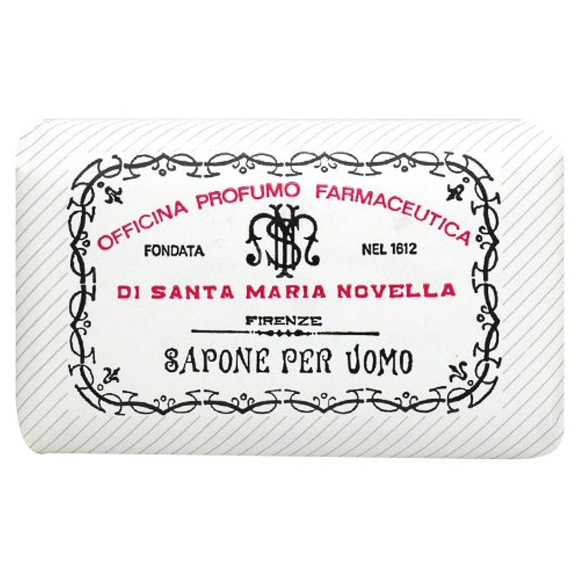 役立つタオルスイッチサンタ マリア ノヴェッラ Santa Maria Novella メンズソープ ベティベール 130g