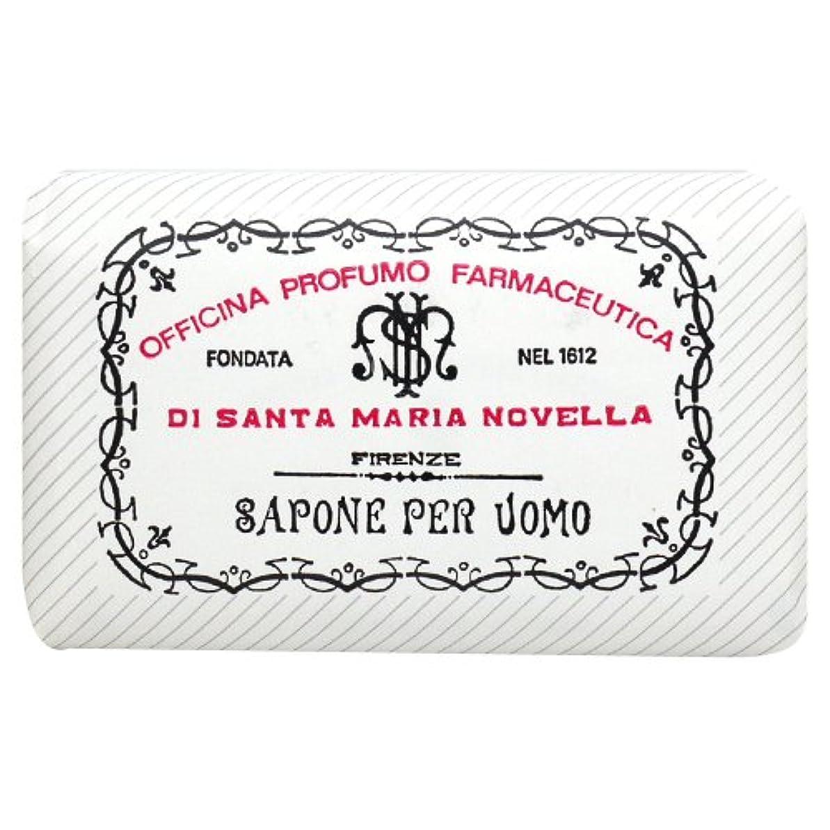 慢なハーフ専らサンタ マリア ノヴェッラ Santa Maria Novella メンズソープ ベティベール 130g