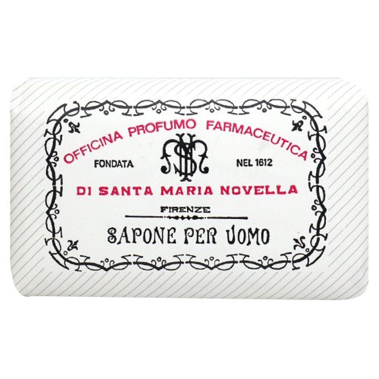 聴覚障害者有名人騒乱サンタ マリア ノヴェッラ Santa Maria Novella メンズソープ ベティベール 130g