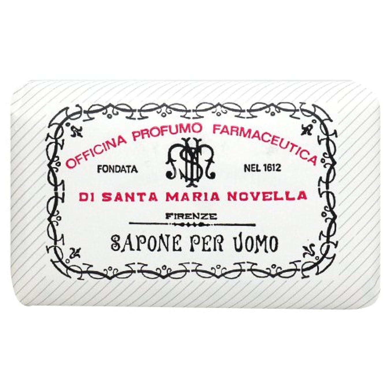 しないでください白い鳩サンタ マリア ノヴェッラ Santa Maria Novella メンズソープ ベティベール 130g