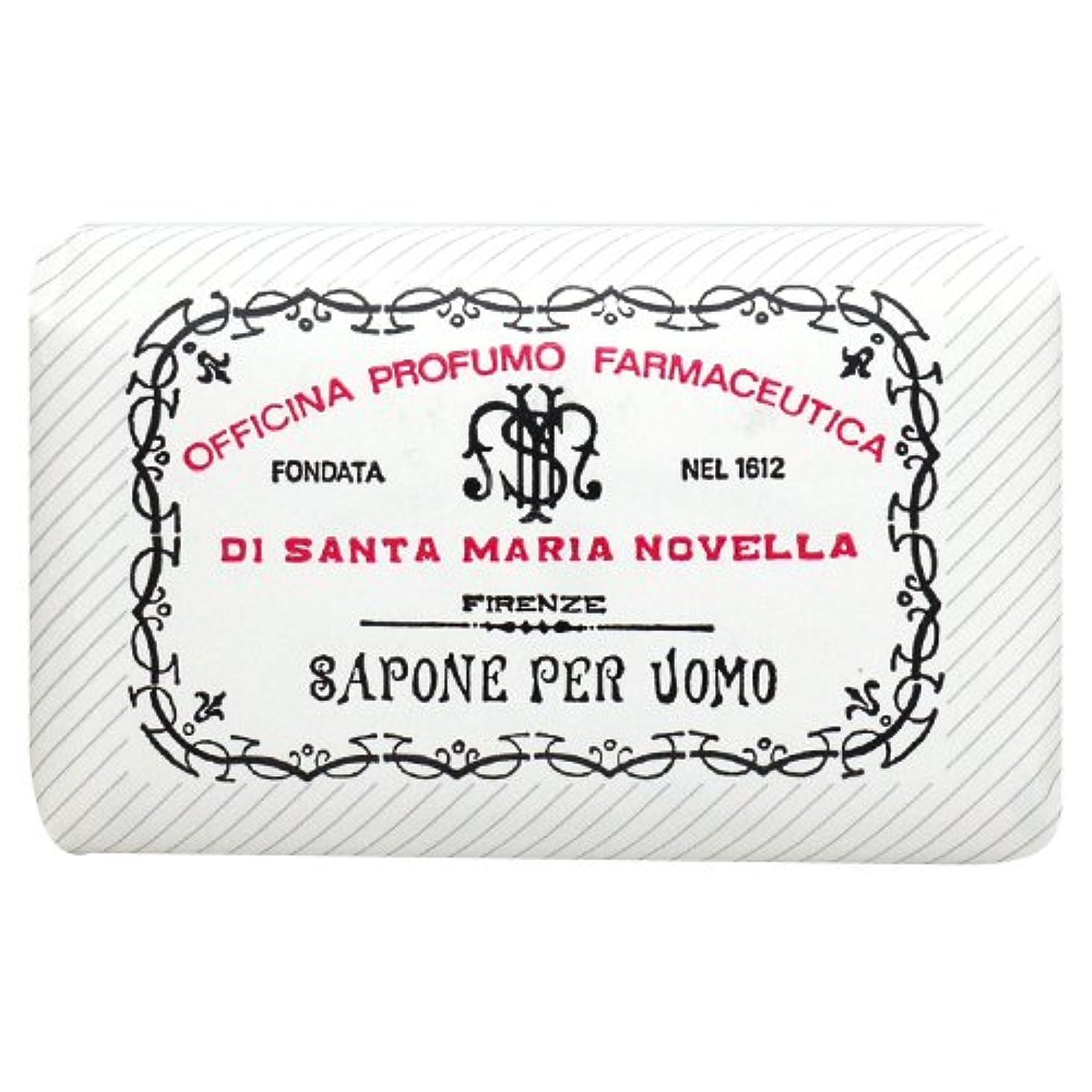 ペーストフェンスクーポンサンタ マリア ノヴェッラ Santa Maria Novella メンズソープ ベティベール 130g [並行輸入品]