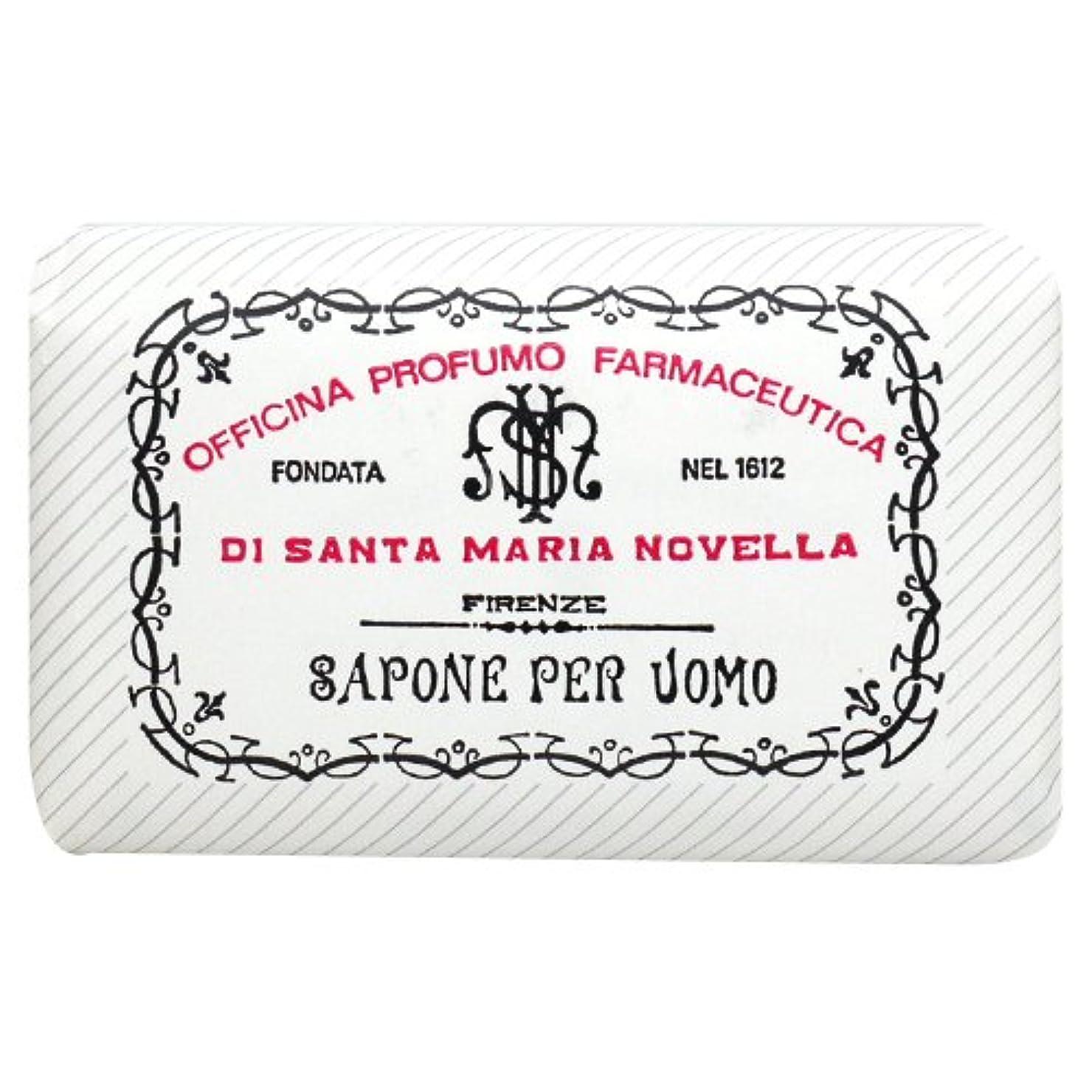 吐き出すノベルティ遠いサンタ マリア ノヴェッラ Santa Maria Novella メンズソープ ベティベール 130g