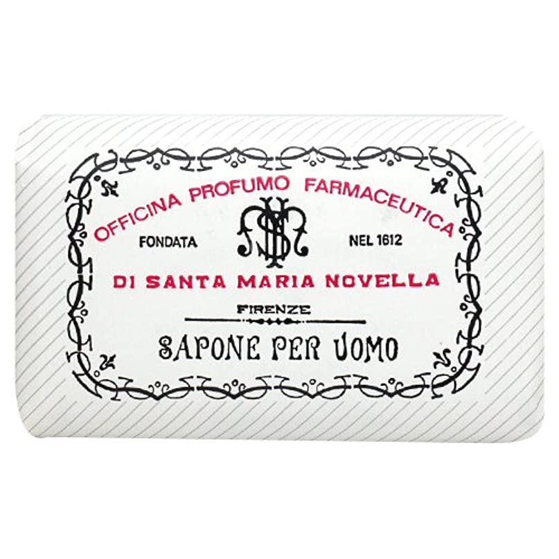 多様体指紋モードリンサンタ マリア ノヴェッラ Santa Maria Novella メンズソープ ベティベール 130g