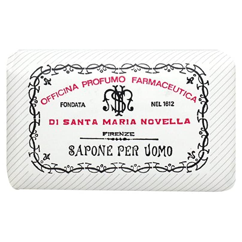 ヒップ突破口憂鬱なサンタ マリア ノヴェッラ Santa Maria Novella メンズソープ ベティベール 130g [並行輸入品]