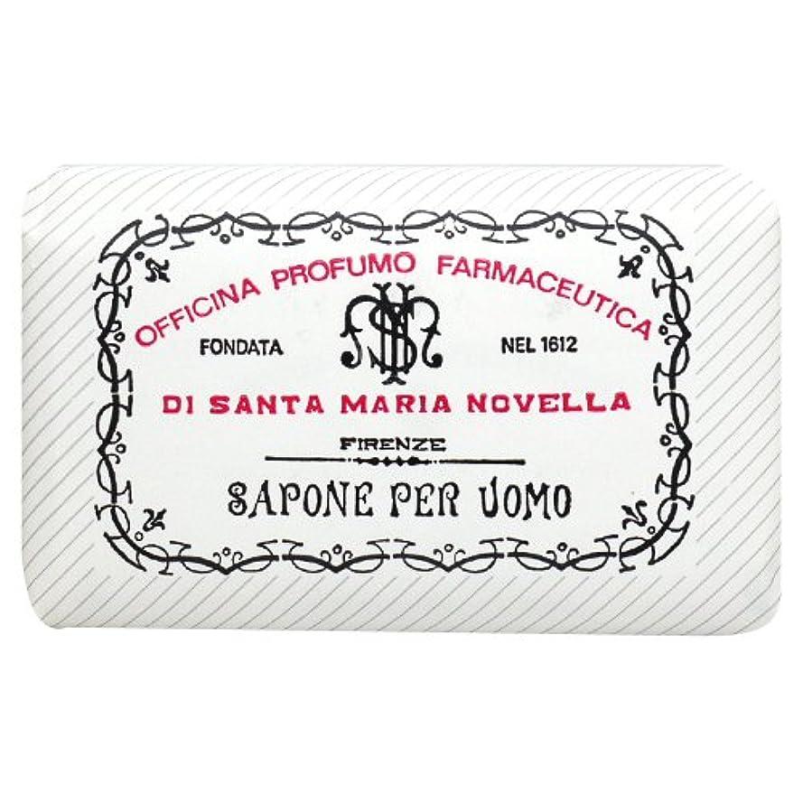 時制特許情熱サンタ マリア ノヴェッラ Santa Maria Novella メンズソープ ベティベール 130g