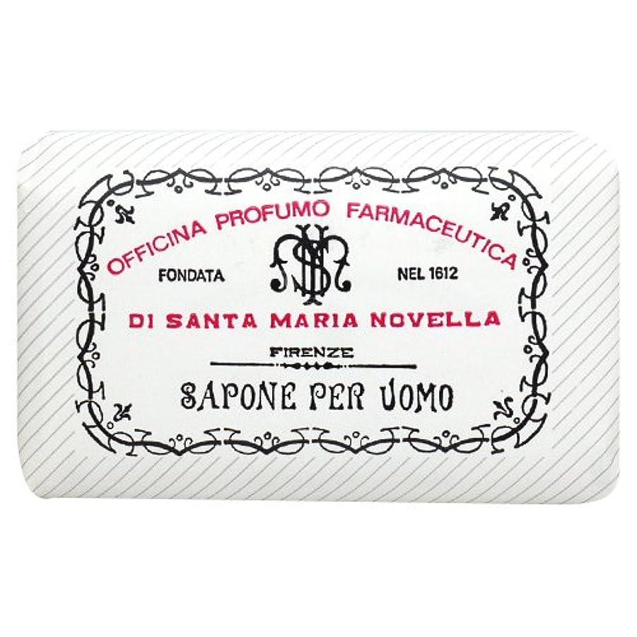 夏名誉ある実際サンタ マリア ノヴェッラ Santa Maria Novella メンズソープ ベティベール 130g