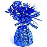 Forum Novelties 10個 装飾バルーンウェイト S ブルー ホログラフィック