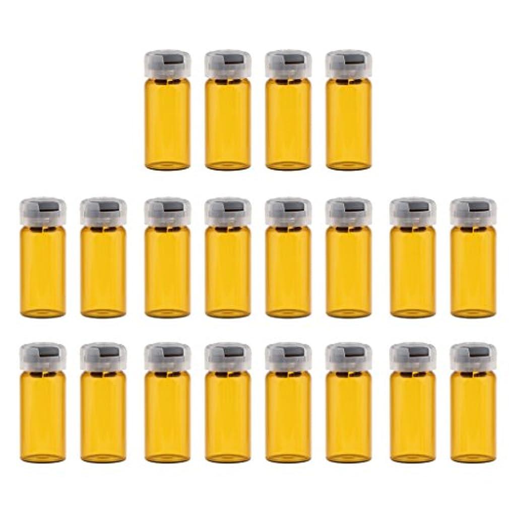 租界ファウルユダヤ人約20個 空 バイアル 密封 滅菌バイアル ガラス 液体容器 3サイズ選べる - 10ml