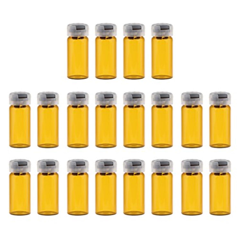 提案必須ダンプ約20個 空 バイアル 密封 滅菌バイアル ガラス 液体容器 3サイズ選べる - 10ml