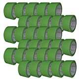 古藤工業 Monf No.821 らくらく養生テープ ライトグリーン 幅48mm×長さ25m 30巻入り [マスキングテープ]
