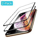 【2枚入り】[全画面] iPhone Xs Max ガラスフィルム 6.5インチ iPhone Xs Max 液晶保護フィルム[ 9H硬度][ 6倍強化][気泡自動排除][耐スクラッチ][高透過率] アイフォン Xs Max 強化ガラスフィルム【DIVI 】