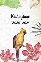 Wochenplaner 2020-2021: Goldener Paradiesvogel Design Wochen- und Monatsplaner   Terminkalender Tagesplaner   ein Liebevolles Geschenk fuer Frauen Kollegen