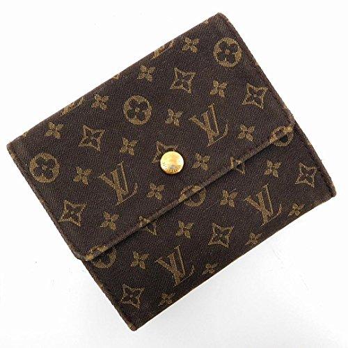 [ルイヴィトン] LOUIS VUITTON 二つ折り財布 モノグラム・イディール キャンバス×レザー X16957 中古