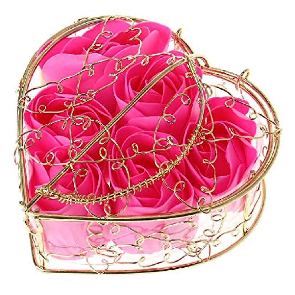 文明化失礼乙女Kaman-co 6本の香りのバラの花びら、入浴ボディーソープ、ウェディングパーティーの装飾ギフト、バレンタインデーの贈り物 (HP)