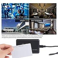 IDとアクセス制御のための高品質10個125KHz EM4100 / TK4100 RFID近接IDスマートカード0.85mm薄型カード(ホワイト)