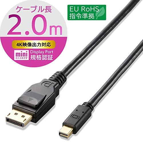 DisplayPort(TM)ケーブル CAC-DPM1220BK