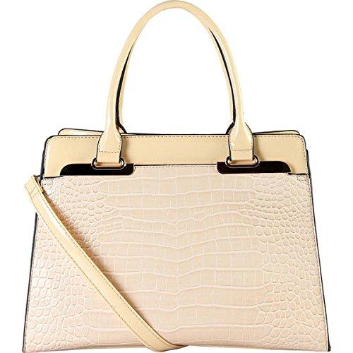 (ディオフィ) Diophy バッグ サッチェルバッグ 0 Faux-leather Double-handle Handbag 並行輸入品