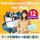 EaseUS Data Recovery Wizard for Mac 12|1ライセンス/1ヶ月版|ダウンロード版