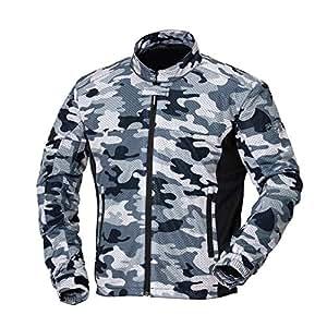 ナンカイ(NANKAI) スーパーライトNEO メッシュジャケット ライトグレーカモ Size XXL SDW-4130