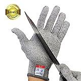 IDEAPRO 切れない手袋 防刃手袋 左右セット 軍手 耐刃手袋 防刃グローブ 作業用手袋 (L)