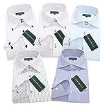(グリニッジ ポロ クラブ) GREENWICH POLO CLUB pd M-ゆったりレギュラー 5枚セット ワイシャツセット yシャツ ボタンダウン