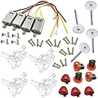XiaoPengYo Syma X8SC X8SW X8S Spare Parts Motor + Main Stand + Blade Cover + Blade lockstitch