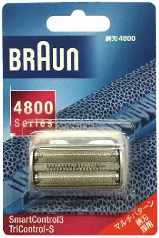 感嘆ひいきにする腐敗したブラウン シェーバー スマートコントロール3用 網刃 F4800