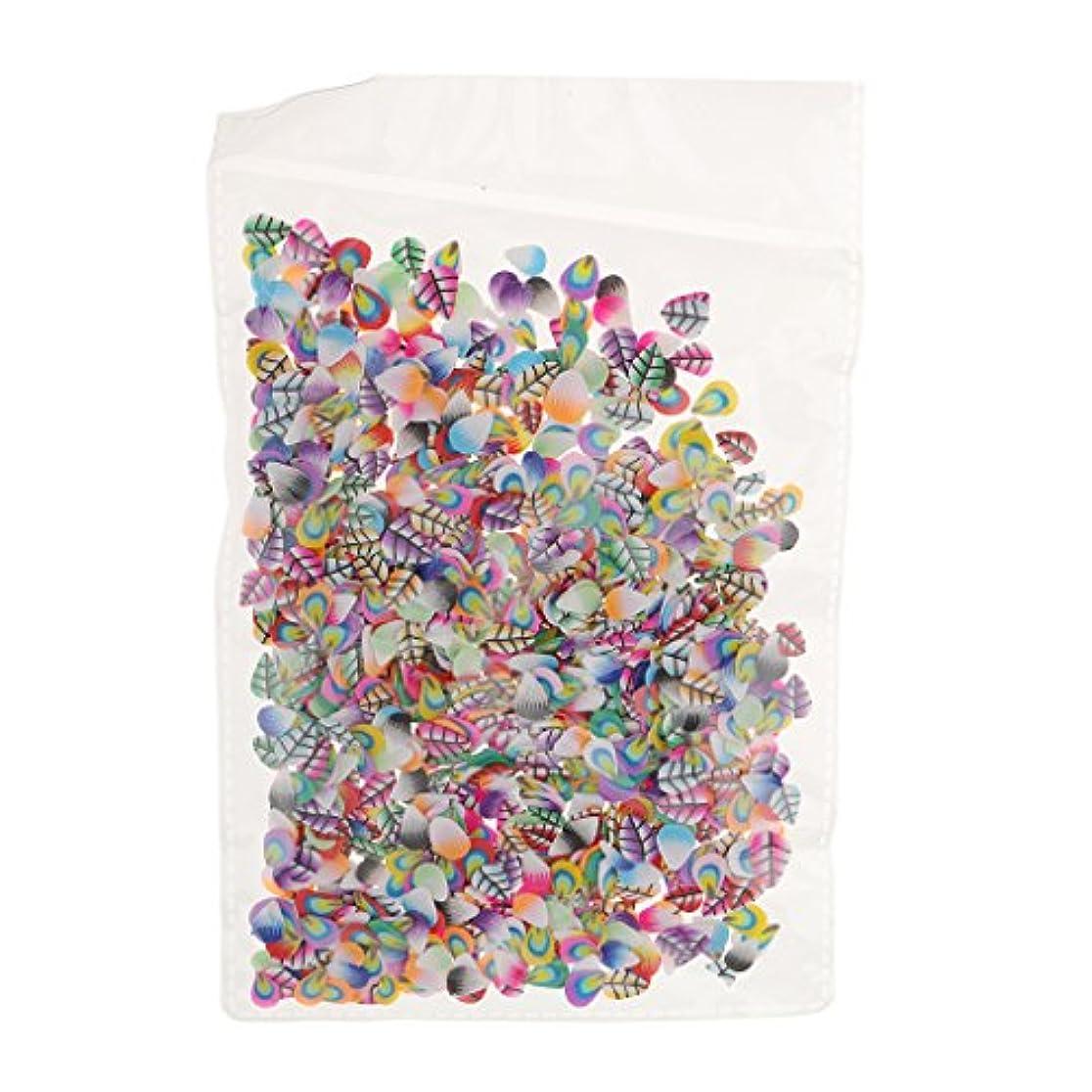 提供友だち爆風Perfeclan ネイルアート フルーツ スライス ポリマー ステッカー ネイル 装飾 約1000枚 直径約5mm - フェザースタイル