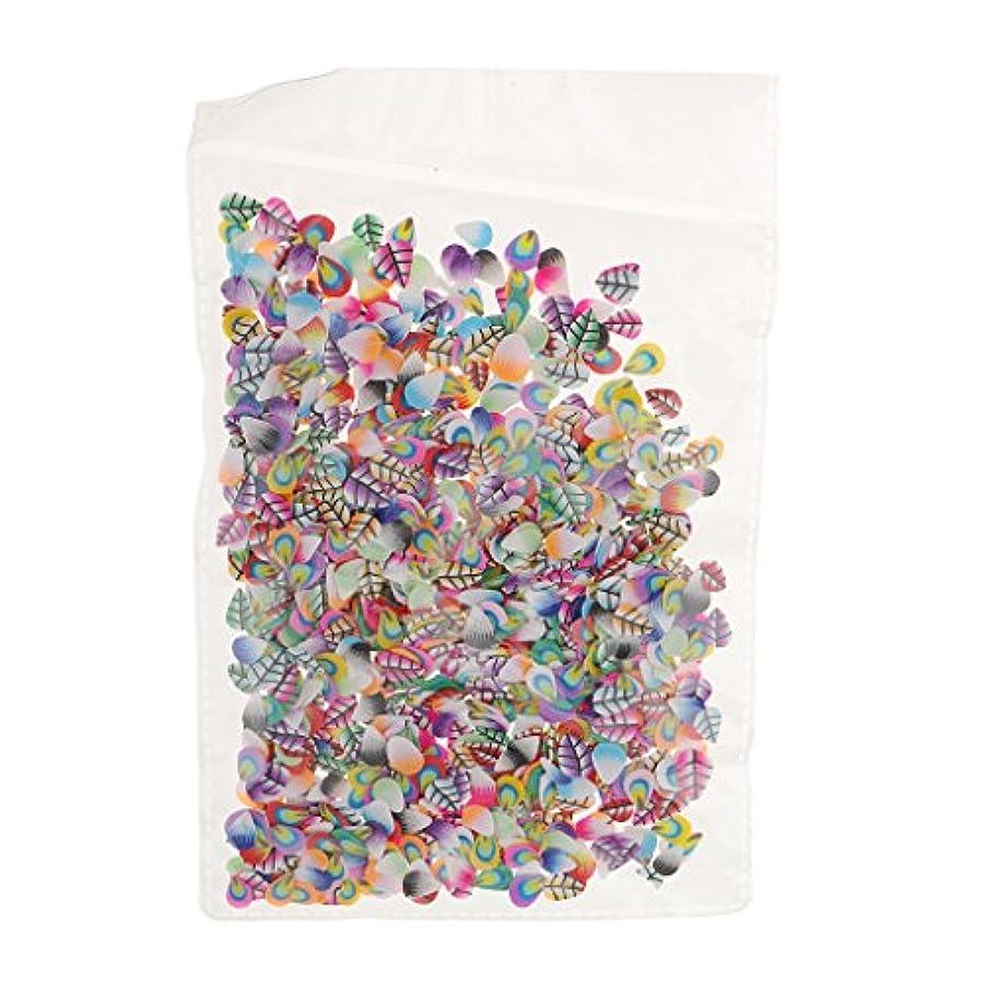 コーデリア定常寝室を掃除するPerfeclan ネイルアート フルーツ スライス ポリマー ステッカー ネイル 装飾 約1000枚 直径約5mm - フェザースタイル