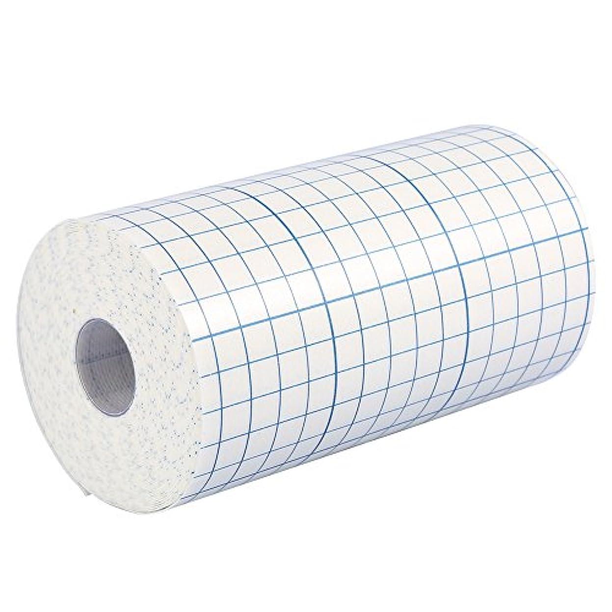 3サイズ1ロールプロフェッショナル不織布接着創傷ドレッシング医療用固定テープ包帯(15cm x 10m)