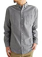 (アーケード) ARCADE 10color メンズ 春 シャツ オックスフォード ボタンダウンシャツ 長袖シャツ カジュアルシャツ