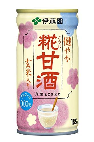 伊藤園 健やか 糀甘酒 缶(185g*30本)