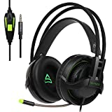 SUPSOO G810 PS4 Xbox one 3.5mm Gaming Headset Jack In-Line Volume Control Over-Ear Gaming Headphones