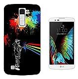 002468 - Fun Graffiti Spray Paint Splash Design Wiko Pulp 4G Gel ファッショントレンド スマートフォンケース カバー