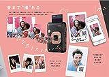 FUJIFILM チェキカメラ ハイブリッドインスタントカメラ instax mini LiPlay ブラッシュゴールド 画像