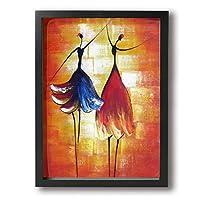 HJM-artframe バレエ 舞踊 絵 絵画 アート パネル インテリア 壁掛け ポスター ART 雑貨 飾り グッズ 完成品 プレゼント 街 フレーム セット 可愛い オシャレ 風景 モダン 自然 海 植物 花