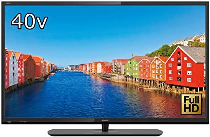 シャープ 40V型 AQUOS フルハイビジョン 液晶テレビ リッチカラ―テクノロジー搭載 外付HDD対応(裏番組録画) LC-40H40