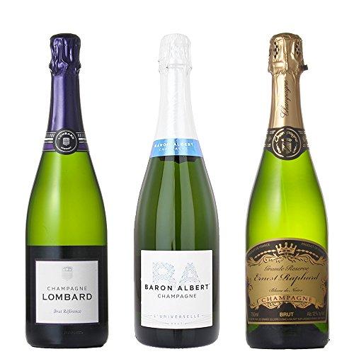 贅沢 ハイグレード シャンパン 飲み比べ セット (750ml×3本)