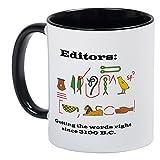 CafePress–Editors in History–Uniqueコーヒーマグカップ、コーヒーカップ S 0104623960BC673