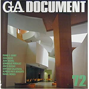 GA DOCUMENT〈72〉 (Global Architecture Document)