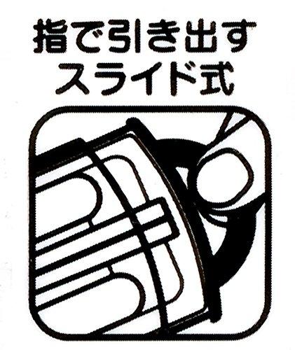 『スケーター トリオセット スライド式 箸 スプーン フォーク セット スターウォーズ フォースの覚醒 ペーパーカット ディズニー TCS1AM』の3枚目の画像
