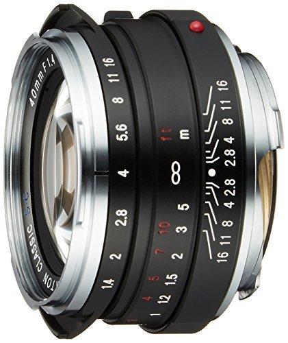 Voigtlander 40mm f/1.4 Black Nokton SC Leica M Lens  並行輸入品