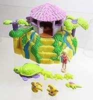 Polly Pocket 2000 ビンテージ トロピカル ペット ブルーバード おもちゃ