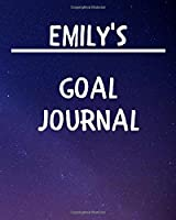 Emily's Goal Journal: 2020 New Year Planner Goal Journal Gift for Emily  / Notebook / Diary / Unique Greeting Card Alternative