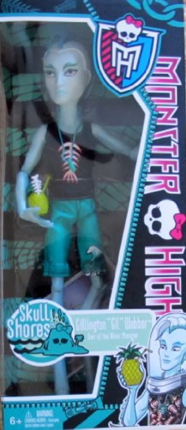 Monster High Skull Shores Gillington