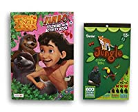 The Jungle Bookカラーリングandアクティビティブックwithステッカーパッド