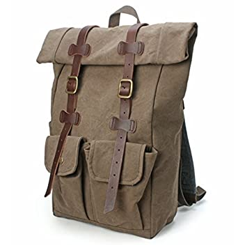 Roll-Top Daypack 2100001665722: Olive