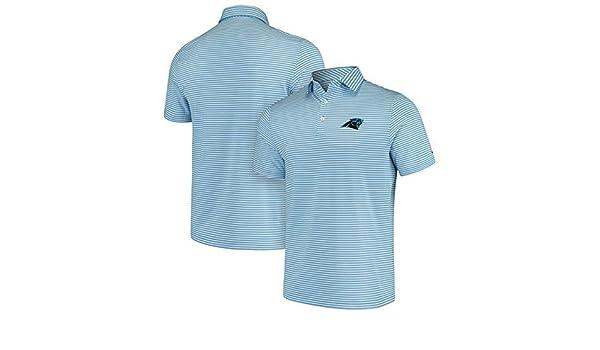 0a4060f1 Amazon   Vineyard Vines Vineyard Vines Carolina Panthers Light Blue/White  Winstead Striped Polo シャツ ポロシャツ 【並行輸入品】   ポロシャツ 通販
