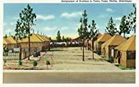 Camp Shelby、Mississippi–Assigning draftees to theirテント 24 x 36 Giclee Print LANT-25753-24x36
